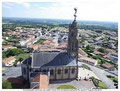 l'église et le clocher de St Michel Mt Mercure et vue sur la Vendée