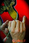 Corso di pinstriping con Sandro Mosa alla Scuola delle Arti - San Giovanni In Persiceto (BO)