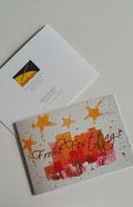 Stiftung Kinderhilfe Sternschnuppe Weihnachtskarte