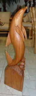 Delfine aus Holz