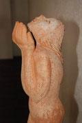 Die Skulptur ist ein Geschenk von Frau Bahrenberg
