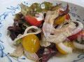 干しすきみ鱈のサラダ