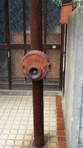 昔の消化柱