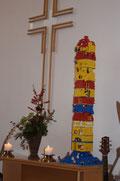 Lego-Turm zu Babel