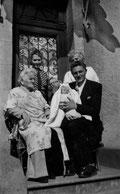 Melun, le 13 avril 1949. Cinq générations