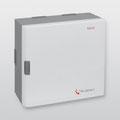 Einbruchmelderzentrale hiplex 8400 H GR80 von Telenot; presented by SafeTech