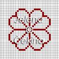 Латышские варежки вязание орнамент символ  Latvian mittens knitting ornament symbole