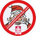 Logo 'Weihnachtsmannfreie Zone'