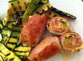 Involtini di pollo ricetta brucia grassi
