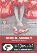 """Cartel """"Feria de San Isidro Labrador 2017"""" en MESAS DEL GUADALORA. - Haz """"clic"""" en ésta imagen para ir al índice """"FERIA DE SAN ISIDRO"""", donde podrás ver la PROGRAMACIÓN DE FESTEJOS."""