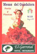 """Cartel """"Feria de San Isidro Labrador 2018"""" en MESAS DEL GUADALORA. - Haz """"clic"""" en ésta imagen para ir al índice """"FERIA DE SAN ISIDRO"""", donde podrás ver la PROGRAMACIÓN DE FESTEJOS."""