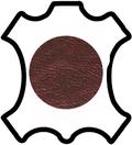 Peaux de cuir de vachette grainée