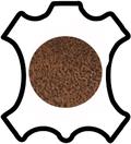 Peaux de cuir de vachette nubuck
