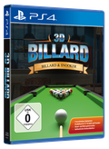 Packshot 3D Billard & Snooker PlayStation 4