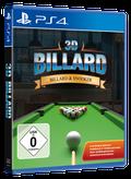 Packshot 3D Billard & Snooker PlayStation 4