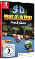 Packshot 3D Billard - Pool & Snooker für Nintendo Switch