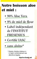 Aloe vera santé | Les produits LR à l'Aloé vera contiennent des proportions très élevées du gel pur de la feuille d'Aloé vera (sans aloïne) et du miel de fleurs qui lui donne un gout très agréable.