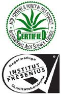 Label de qualité I.A.S.C & FRESENIUS - Aloé Vera Santé avec LR Health & Beauty