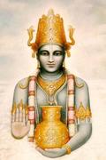Dhanvantari - indischer Schutzgott des Ayurveda