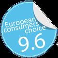 Samsonite Cosmolite awarded by European Consumers choice