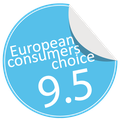 Radius Design Letterman awarded by European Consumers Choice
