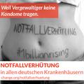 Banner 'Notfallverhütung in ALLEN deutschen Krankenhäusern'