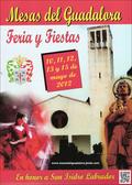 """Cartel """"Feria de San Isidro Labrador 2012"""" en MESAS DEL GUADALORA. - Haz """"clic"""" en ésta imagen para ir al índice """"FERIA DE SAN ISIDRO"""", donde podrás ver la PROGRAMACIÓN DE FESTEJOS."""