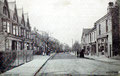 Stechford village, Albert Road - this card is available to buy from Dave Gregory's Postcards of the past website - See Acknowledgements