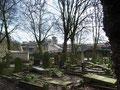 Key Hill Cemetery - Jewellery Quarter Metro tram station in background