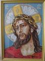 Христос в терновом венке. Вышила Нина Эйзенкрейн