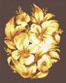 Букет для девушки с золотыми волосами