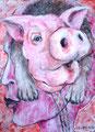 Der innere Schweinehund_110x80 cm_2007