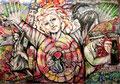 I love Leoben_gemalt für die Jahresausstellung 2018 In der Kunsthalle Leoben
