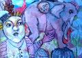 Der Traum vom Starksein_50x60 cm_2013