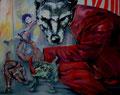 Das Märchen vom bösen Wolf_120x150 cm