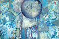 Die Stille der Sterne durchspalten (Rilke)_übermalt 2015