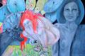 Die gestundete Zeit (Ingeborg Bachmann)_90x130 cm_2014