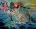 """Vom Fischer und seiner Frau  _ aus der Serie """" Deutsche Romantik, Grimm´s Märchen_ 2010_120x150 cm"""
