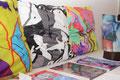 Kissen, designed mit meinen Bildern bei VIDA Los Angeles