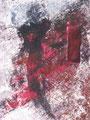 Addio, 2011, Acryl-Mischtechnik auf Leinwand, 100x80x2 cm