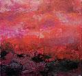 Farbgeflüster in Pink I, 2017, 20x20x2 cm