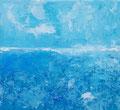 Estate VI, 2017, Acryl auf Leinwand, 20x20x2 cm