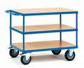27 Tischwagen mit 3 Ebenen