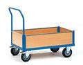 18 Kastenwagen, Ladeflächen: 850x500/1000x600/1000x700 und 1200x800 mm, Tragkraft 500/600 mm, Preis ab 285,00 € zzgl. Mwst.