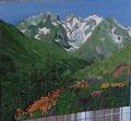 La montagne  (tableau de Roger)