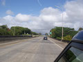 ノースショア・ハレイワの街を目指す。道中もこんな景色なら楽しい。