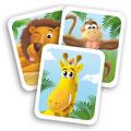 """Cartes à jouer du jeu """"Photo safari"""" pour Nathan"""