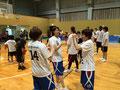バスケットボール教室の様子