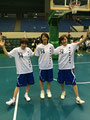 藤原選手&伊集選手&高田(汐)選手 いろいろポーズをとってくれました(笑)