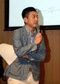 総合司会 ZIP-FM 小林拓一郎さん